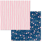 BoBunny - Little Wonders Collection - 12 x 12 Double Sided Paper - Sophia