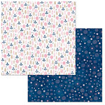 BoBunny - Little Wonders Collection - 12 x 12 Double Sided Paper - Willow