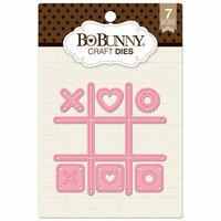 BoBunny - Craft Dies - Tic Tack Toe