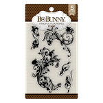 BoBunny - Clear Acrylic Stamps - Flourishes