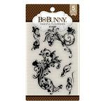 BoBunny - Clear Acrylic Stamps - Flourishes