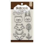 BoBunny - Clear Acrylic Stamps - Forest Friends