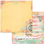 BoBunny - Sunshine Bliss Collection - 12 x 12 Double Sided Paper - Sunshine Bliss