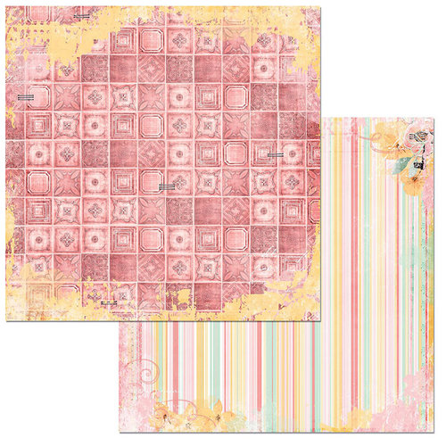 BoBunny - Sunshine Bliss Collection - 12 x 12 Double Sided Paper - Charm