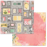 BoBunny - Sunshine Bliss Collection - 12 x 12 Double Sided Paper - Delight