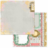 BoBunny - Sunshine Bliss Collection - 12 x 12 Double Sided Paper - Euphoria
