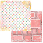 BoBunny - Sunshine Bliss Collection - 12 x 12 Double Sided Paper - Peace