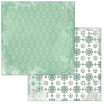 BoBunny - Sunshine Bliss Collection - 12 x 12 Double Sided Paper - Serene