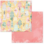 BoBunny - Sunshine Bliss Collection - 12 x 12 Double Sided Paper - Tranquility