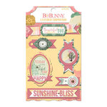 BoBunny - Sunshine Bliss Collection - Layered Chipboard Stickers