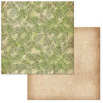 BoBunny - Jungle Life Collection - 12 x 12 Double Sided Paper - Atrium