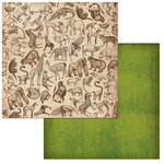 BoBunny - Jungle Life Collection - 12 x 12 Double Sided Paper - Wildlife