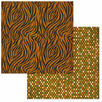 BoBunny - Jungle Life Collection - 12 x 12 Double Sided Paper - Zoo