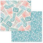 BoBunny - Escape to Paradise Collection - 12 x 12 Double Sided Paper - Escape To Paradise
