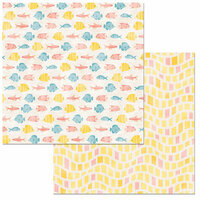 BoBunny - Escape to Paradise Collection - 12 x 12 Double Sided Paper - Island