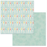 BoBunny - Escape to Paradise Collection - 12 x 12 Double Sided Paper - Swim