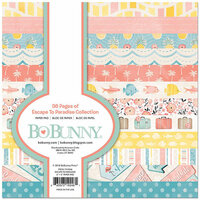 BoBunny - Escape to Paradise Collection - 6 x 6 Paper Pad
