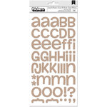 BoBunny - Escape to Paradise Collection - Thickers - Alphabet