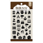 BoBunny - Clear Acrylic Stamps - Adventure