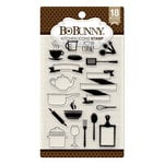 BoBunny - Clear Acrylic Stamps - Kitchen Icons