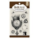 BoBunny - Clear Acrylic Stamps - Steampunk