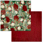 BoBunny - Yuletide Carol Collection - Christmas - 12 x 12 Double Sided Paper - Yuletide Carol