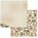 BoBunny - Yuletide Carol Collection - Christmas - 12 x 12 Double Sided Paper - Christmas