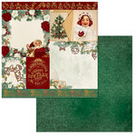 BoBunny - Yuletide Carol Collection - Christmas - 12 x 12 Double Sided Paper - Festive