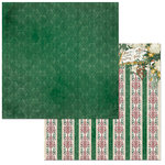 BoBunny - Yuletide Carol Collection - Christmas - 12 x 12 Double Sided Paper - Joyous
