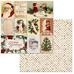 BoBunny - Yuletide Carol Collection - Christmas - 12 x 12 Double Sided Paper - Kris Kringle