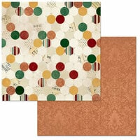 BoBunny - Yuletide Carol Collection - Christmas - 12 x 12 Double Sided Paper - Traditional