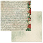 BoBunny - Yuletide Carol Collection - Christmas - 12 x 12 Double Sided Paper - Wonderful