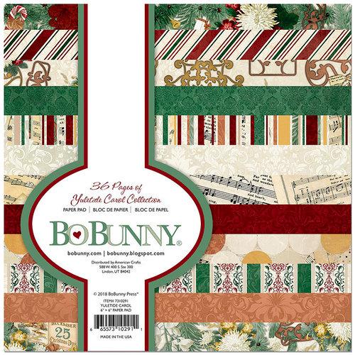 BoBunny - Yuletide Carol Collection - Christmas - 6 x 6 Paper Pad