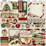 BoBunny - Yuletide Carol Collection - Christmas - 12 x 12 Cardstock Stickers - Combo