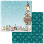 BoBunny - Christmas in the Village Collection - 12 x 12 Double Sided Paper - Christmas in the Village