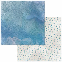 BoBunny - Beautifully Brisk Collection - 12 x 12 Double Sided Paper - Air