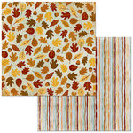BoBunny - Beautifully Brisk Collection - 12 x 12 Double Sided Paper - Autumn