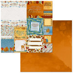 BoBunny - Beautifully Brisk Collection - 12 x 12 Double Sided Paper - Colorful