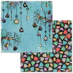 BoBunny - Land of Wonder Collection - 12 x 12 Double Sided Paper - Land of Wonder