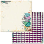 BoBunny - Land of Wonder Collection - 12 x 12 Double Sided Paper - Adventures