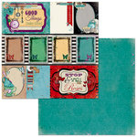 BoBunny - Land of Wonder Collection - 12 x 12 Double Sided Paper - Curiosity