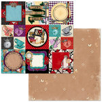 BoBunny - Land of Wonder Collection - 12 x 12 Double Sided Paper - Hearts