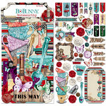 BoBunny - Land of Wonder Collection - Noteworthy Journaling Cards