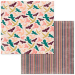 BoBunny - Floral Spice Collection - 12 x 12 Double Sided Paper - Dreamer