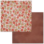 BoBunny - Floral Spice Collection - 12 x 12 Double Sided Paper - Endearing