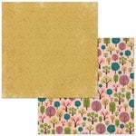 BoBunny - Floral Spice Collection - 12 x 12 Double Sided Paper - Forrest