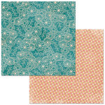 BoBunny - Floral Spice Collection - 12 x 12 Double Sided Paper - Memories