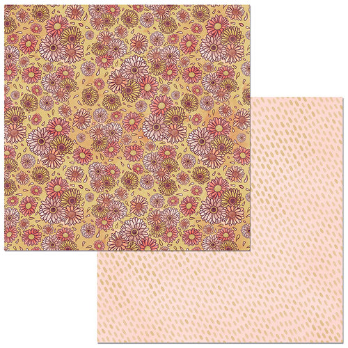 BoBunny - Floral Spice Collection - 12 x 12 Double Sided Paper - Vibrant