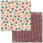 BoBunny - Floral Spice Collection - 12 x 12 Double Sided Paper - Wonderful