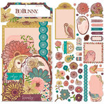 BoBunny - Floral Spice Collection - Noteworthy Journaling Cards